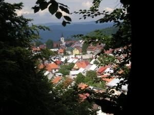 Pogled na Delnice - Gorski kotar - Apartman Sara
